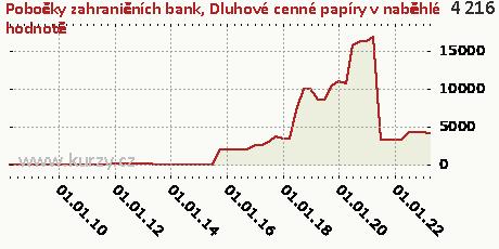 Dluhové cenné papíry držené do splatnosti,Pobočky zahraničních bank