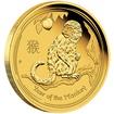 Zlatá mince 10 oz (trojských uncí) ROK OPICE Austrálie 2016