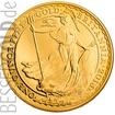 Zlatá mince 1 oz (trojská unce) BRITANNIA Velká Británie 2016