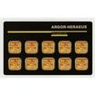 Zlatý slitek 10x1g Multicard ARGOR HERAEUS (Švýcarsko)