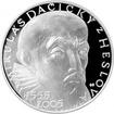Stříbrná mince 200 Kč Mikuláš Dačický z Heslova 450. výročí narození 2005 Proof