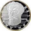 Gustav Mahler stříbrná medaile 2010 Proof