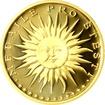 Zlatá medaile Štěstí Proof