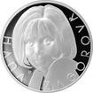 Stříbrná medaile Hana Zagorová 2017 Proof