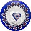 Stříbrná mince Murrine Millefiori Glass Art 2016 Proof
