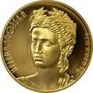Zlatá uncová mince 50 NZD Osudová žena Helena Trojská 2016 Proof