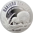Stříbrná mince Kiwi Treasures 1 Oz 2017 Proof