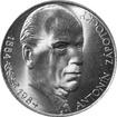 Stříbrná mince 100 Kčs Antonín Zápotocký 100. výročí narození 1984