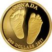 Zlatá mince Vítej na světě 2017 Proof