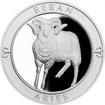 Stříbrná medaile Znamení zvěrokruhu s věnováním - Beran 2017 Proof