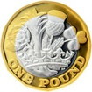 Stříbrná mince The New Pound 2017 Proof