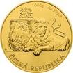 Zlatá kilogramová investiční mince Český lev 2017 Standard