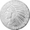 Stříbrná investiční medaile Incuse Indian 2 Oz