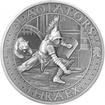 Stříbrná mince Gladiators 2 Oz Thraex 2017 Antique Standard