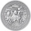 Stříbrná mince Gladiators 2 Oz Essedarius 2017 Antique Standard
