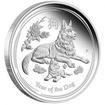 Stříbrná mince 1 Oz Year of the Dog Rok Psa 2018 Proof