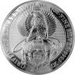 Stříbrná investiční mince The Queen's Beasts The Griffin 10 Oz 2018