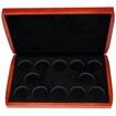 Dřevěná krabička 12 x Ag Lunární série I. 1999 - 2010