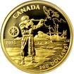 Zlatá mince Henry Hudson 2015 Proof