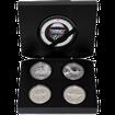 Legends of the Air Sada stříbrných mincí 2011 Proof