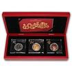 Sada stříbrných mincí Rok Hada 3D Panorama 2013 Standard