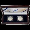 Sada stříbrných mincí Vitus Jonassen Bering 2011 Proof