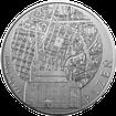 Stříbrná investiční medaile 1 Kg Statutární města ČR - Plzeň  2011 Standard