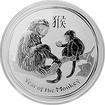 Stříbrná investiční mince Year of the Monkey Rok Opice Lunární 1 Oz 2016