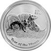 Stříbrná investiční mince Year of the Mouse Rok Myši Lunární 1 Oz 2008