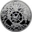 Stříbrná medaile Dekameron den druhý - Kolo osudu 2013 Proof