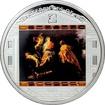Stříbrná mince 3 Oz Útěk do Egypta Peter Paul Rubens 2012 Krystaly Proof
