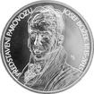 Stříbrná mince 200 Kč Josef Božek předvedl parovůz 200. výročí 2015 Standard