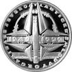 Stříbrná mince 200 Kč Založení NATO 50. výročí 1999 Proof