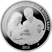Stříbrná mince HRH Princess Charlotte 1 Oz 2015 Proof