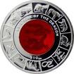 Stříbrná mince Year of the Dragon Rok Draka 2012 Krystal Proof
