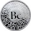 Stříbrná titulární medaile Bc. Proof