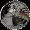 Stříbrná mince Titanic 1 Kg 2012 100. výročí Night Pearl Black