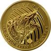 Zlatá investiční mince Roaring Grizzly 1 Oz 2016 (.99999)