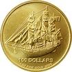 Zlatá investiční mince Bounty Cook Islands 1 Oz