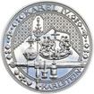 Nejkrásnější medailon IV. Karlštejn - 1 kg Ag Proof-like