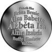 Česká jména - Alžběta - stříbrná medaile