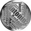 Česká jména - Antonín - velká stříbrná medaile 1 Oz