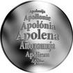 Česká jména - Apolena - stříbrná medaile