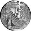 Česká jména - Apolena - velká stříbrná medaile 1 Oz