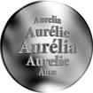 Slovenská jména - Aurélia - stříbrná medaile