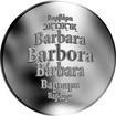 Česká jména - Barbara - stříbrná medaile