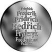 Česká jména - Bedřich - stříbrná medaile