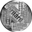 Česká jména - Bernard - velká stříbrná medaile 1 Oz