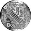 Česká jména - Bohumil - velká stříbrná medaile 1 Oz
