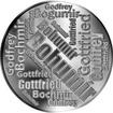 Česká jména - Bohumír - velká stříbrná medaile 1 Oz